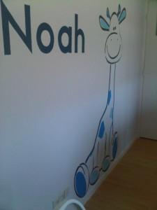 BABYKAMER GEBOORTEKAARTJE NOAH